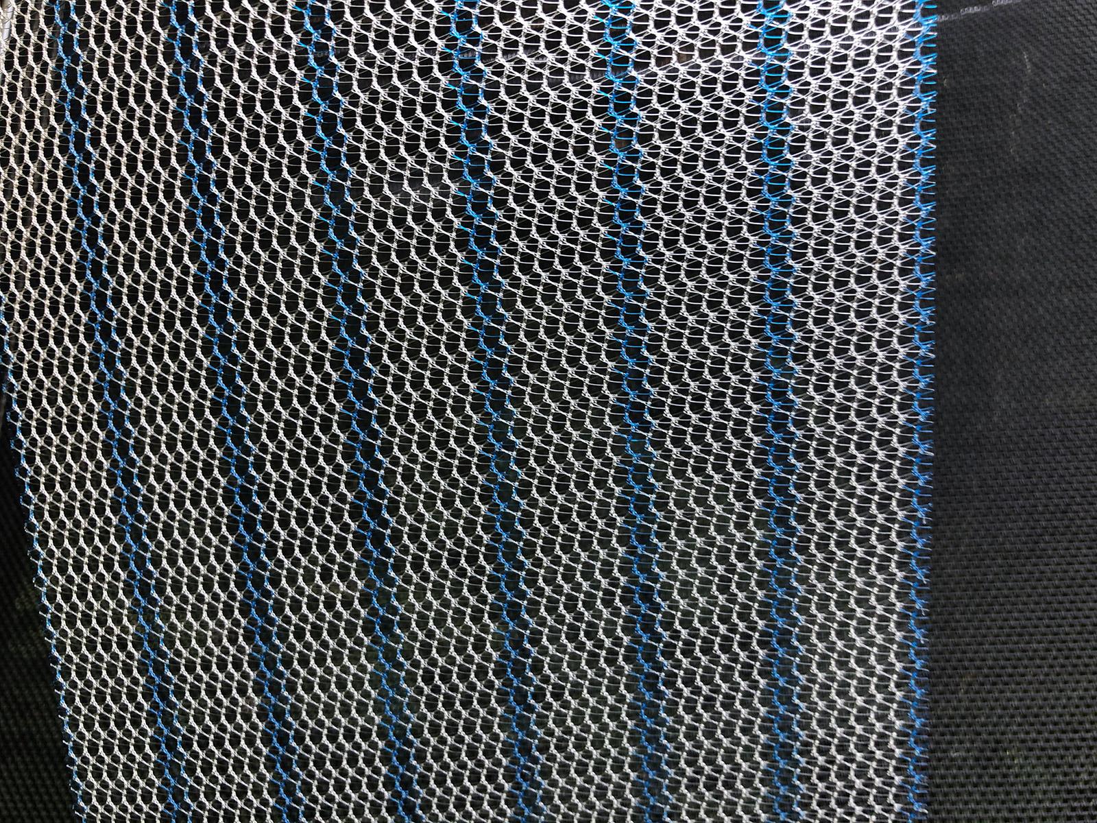 Lichtbild von Polypropylen-Netzen